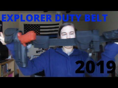 2019-2020 Explorers Duty Belt