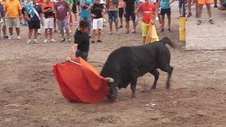 8 8 2015 vall d ux cs penyes en festes encierro cerriles y toro cerril