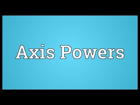 Axis Powers Meaning