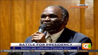 Voter challenges CJ Maraga before Supreme Court for dismissing petition