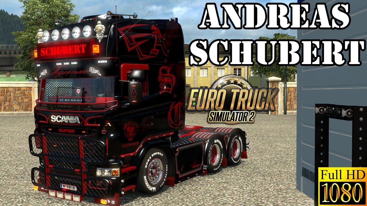 ETS2 - Andreas Schubert Scania V8 - YouTube
