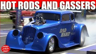 2012 Gasser Reunion Hot Rods Gas Rd 1 Gassers Willys Elim Nostalgia Drag Racing Videos