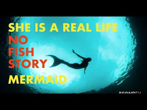 A Real Life Mermaid-  No Fish Story!