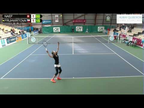NAEF (SUI) vs FRUHVIRTOVA (CZE) - Open Super 12 Auray Tennis - Court 4