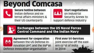 What is COMCASA.. INDIA, US landmark military communication, security agreement,.