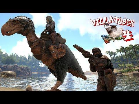 NOS VAMOS DE TAMEO! COMPRANDO FRANCO - VillaTuber4 #19 - ARK: Survival Evolved