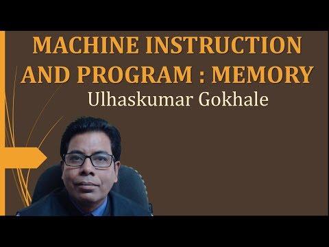 MACHINE INSTRUCTION AND PROGRAM  MEMORY ORGANIZATION