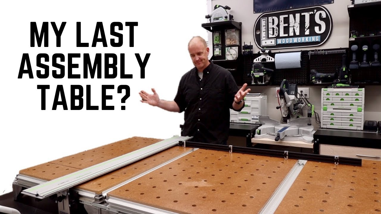 Assembly Table and Miter Saw Station - New Shop Part 7