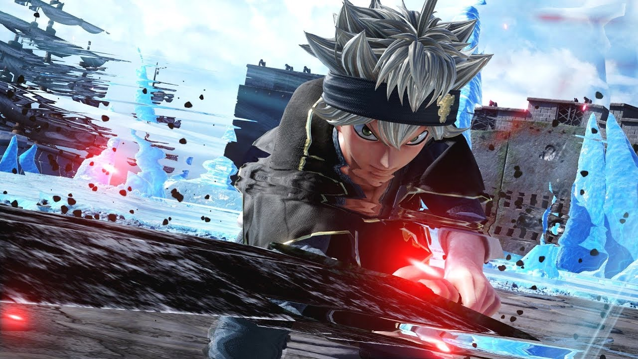 Jump Force Asta Black Clover Gameplay Hd Screenshots 1080p Youtube