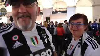 Juve campione d'Italia, i tifosi in festa a Torino: