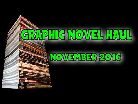 Graphic Novel Haul November 2016