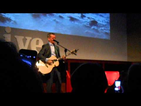 Commander Chris Hadfield goes acoustic at The Royal Geographical Society