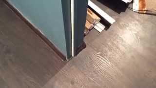 видео Устанавливаем двери белые глянцевые межкомнатные