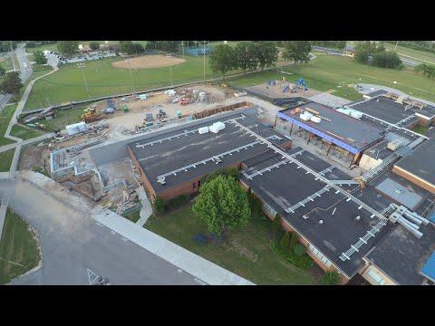 Geggie Elementary School construction (update 2)