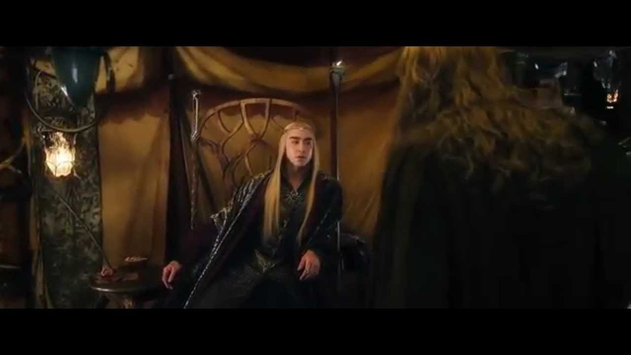 The Hobbit Battle Of Five Armies - Thranduil vs Gandalf