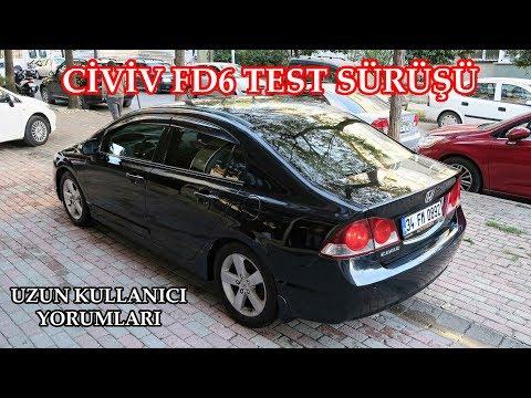 Honda Civic  FD6 Test Sürüşü & İnceleme (Uzun Kullanıcı Yorumları)