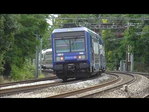 Z5600 Z20500 : Passages sans arrêt à la gare d'Ablon sur la ligne C du RER