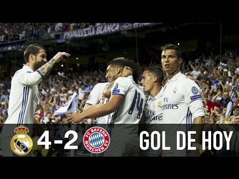 Real Madrid 4 Bayern Munich 2 hoy || Hat-trick de Ronaldo, Triplete de Cristiano