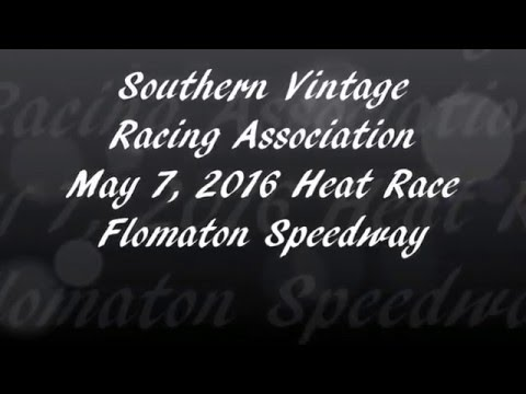 Southern Vintage Racing Association 5/7/16 Heat Race Flomaton Speedway