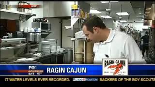 Houston Restaurants - Ragin' Cajun Crawfish & King Cakes With Dominic Mandola