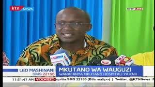 Mkutano wa wauguzi katika hospitali kuu la Kenyatta( KNH)
