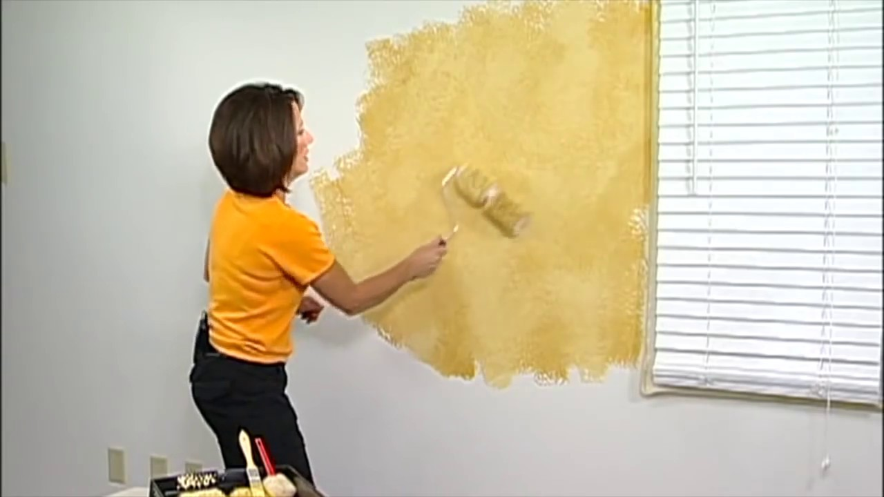 2-Color Faux Painting Instruction by The Woolie (How To Paint Your ...