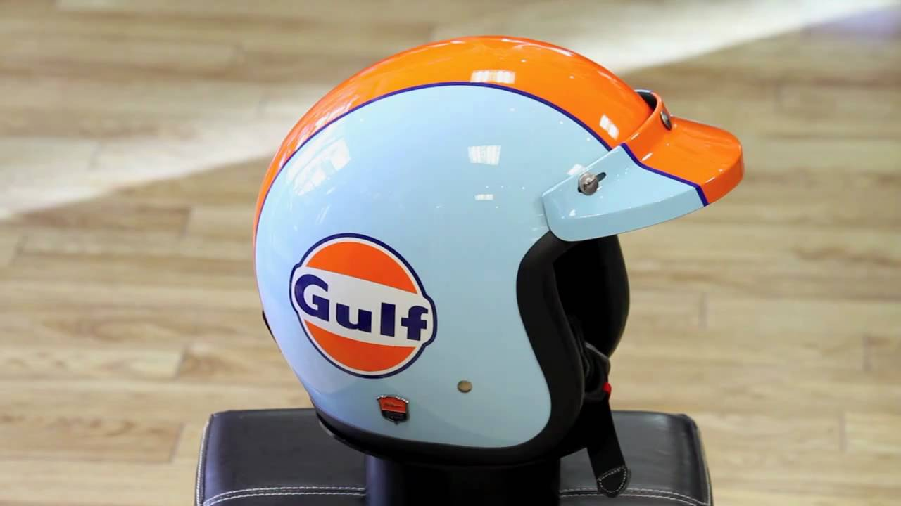Air Born「gulf」helmet Youtube
