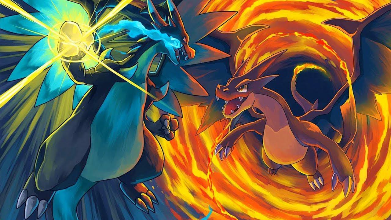 Minecraft pokemon da sorte dark mega charizard x vs mega charizard y mayconlorenz youtube - Image de mega dracaufeu ...