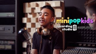 """""""Sunflower"""" - Post Malone, Swae Lee - Mini Pop Kids - Acoustic [Cover] Video"""