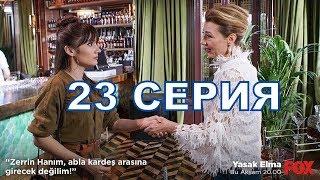 ЗАПРЕТНЫЙ ПЛОД описание 23 серии турецкого сериала на русском языке, дата выхода