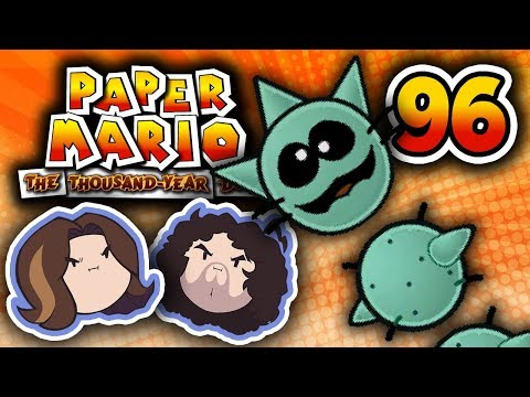 Paper Mario TTYD: Too Many Pokeys - PART 96 - Game Grumps