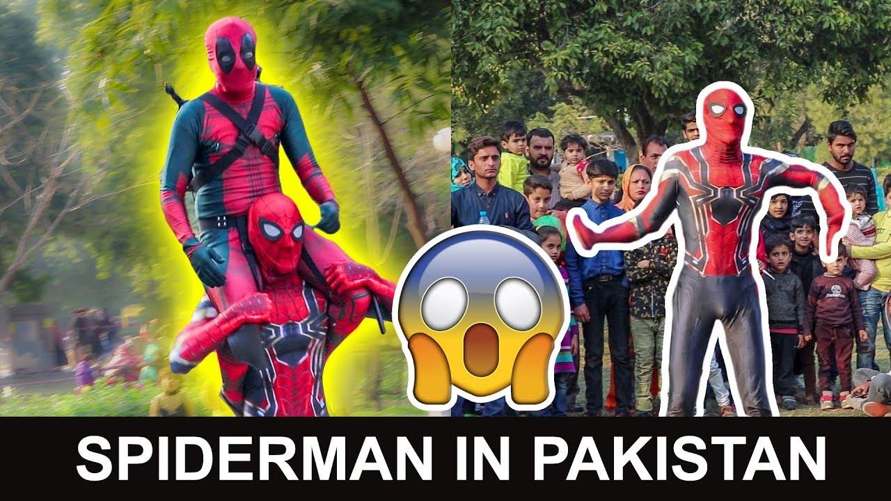 Desi Spiderman in Pakistan | Prank with Public