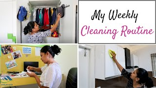 My Weekly Cleaning Routine - Simplify Your Space