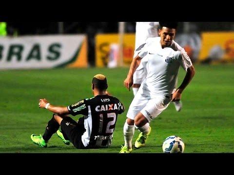 Santos 3 x 2 Figueirense | MELHORES MOMENTOS | Copa do Brasil (01/10/15)