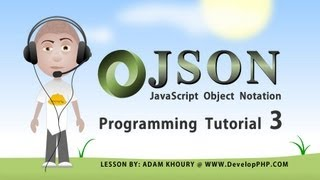 json tutorial for beginners learn how to program part 3 PHP Ajax JavaScript