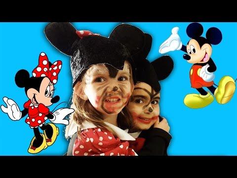Mickey Mouse Minnie Mouse Makyaj Yapma Teknikleri Umikids