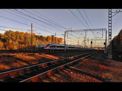 Репортаж о проекте ВСМ «Москва — Санкт-Петербург» телеканала «Россия 1»