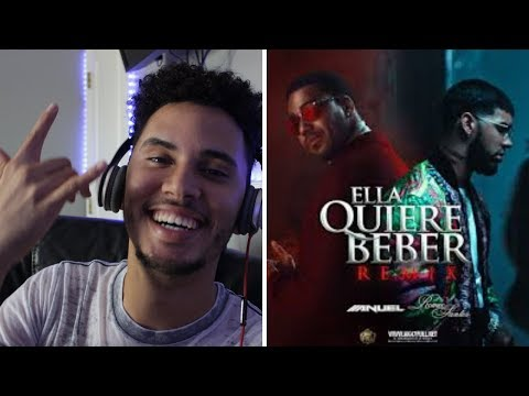 Anuel AA - Ella Quiere Beber (Remix) ft. Romeo Santos