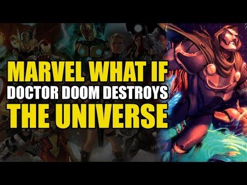 Doctor Doom Gets The Infinity Gauntlet and Destroys The Marvel Universe (Not Secret Wars 2015)