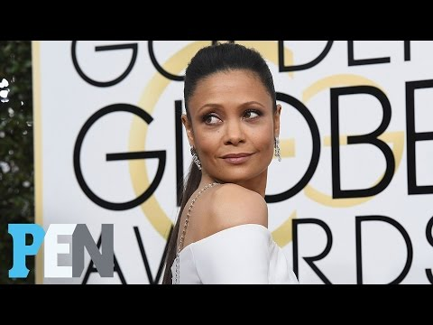Westworld's Thandie Newton On Her Smoking Golden Globes Dress: 'I Look Like A Cigarette' | People