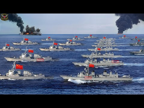 Warning to US : China begins military drills to Attack US and Taiwan amid tension in SCS