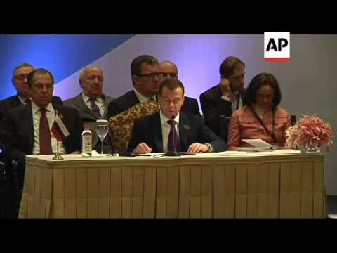 Leaders of Brazil, Russia, India, China hold summit, plenary session