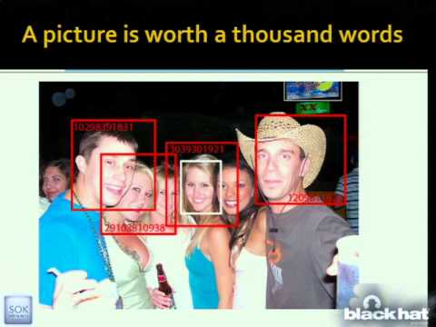 Black Hat USA 2011 - Faces Of Facebook-Or, How The Largest Real ID Database In The World Came To Be