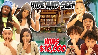 Epic Hide and Seek Winner Wins $10,000
