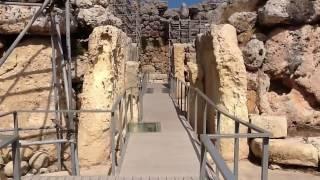 Ggantija temple complex Gozo