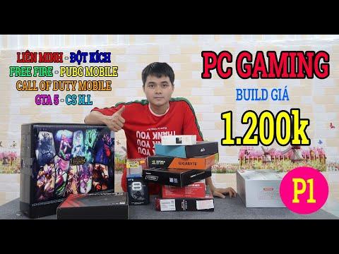 Build máy tính PC giá 1200k mua hàng trên shopee [ phần 1 mua đồ PC online ]