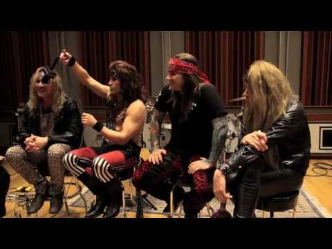 STEEL PANTHER & Some Highly Inappropriate Fan Questions | Metal Injection