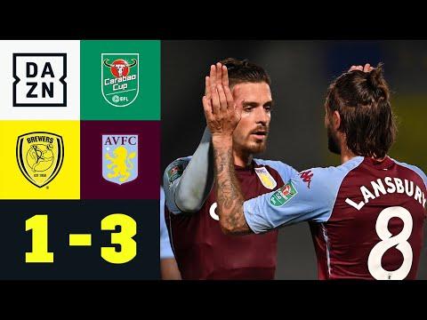 Später Villans-Doppelschlag reicht für Runde 3: Burton Albion - Aston Villa 1:3 | Carabao Cup | DAZN