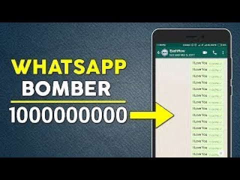 Bomber whatsapp sms How To