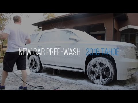 2016 Chevy Tahoe New Car Prep: Video 1 - Decontamination